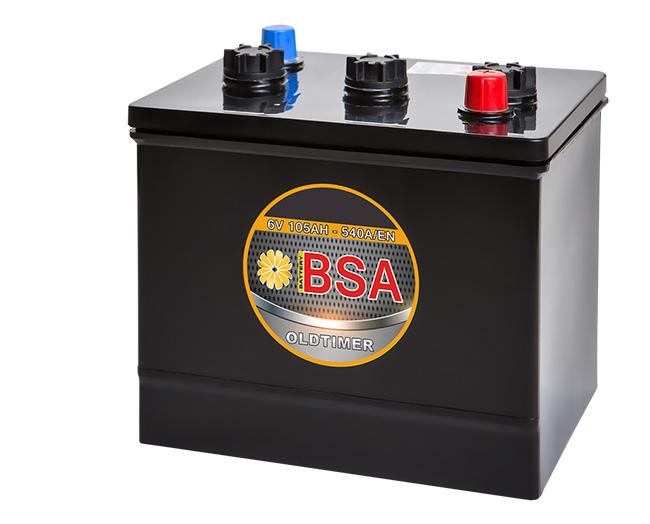 bsa oldtimer batterie 105ah 6v 540a en oldtimerbatterie. Black Bedroom Furniture Sets. Home Design Ideas