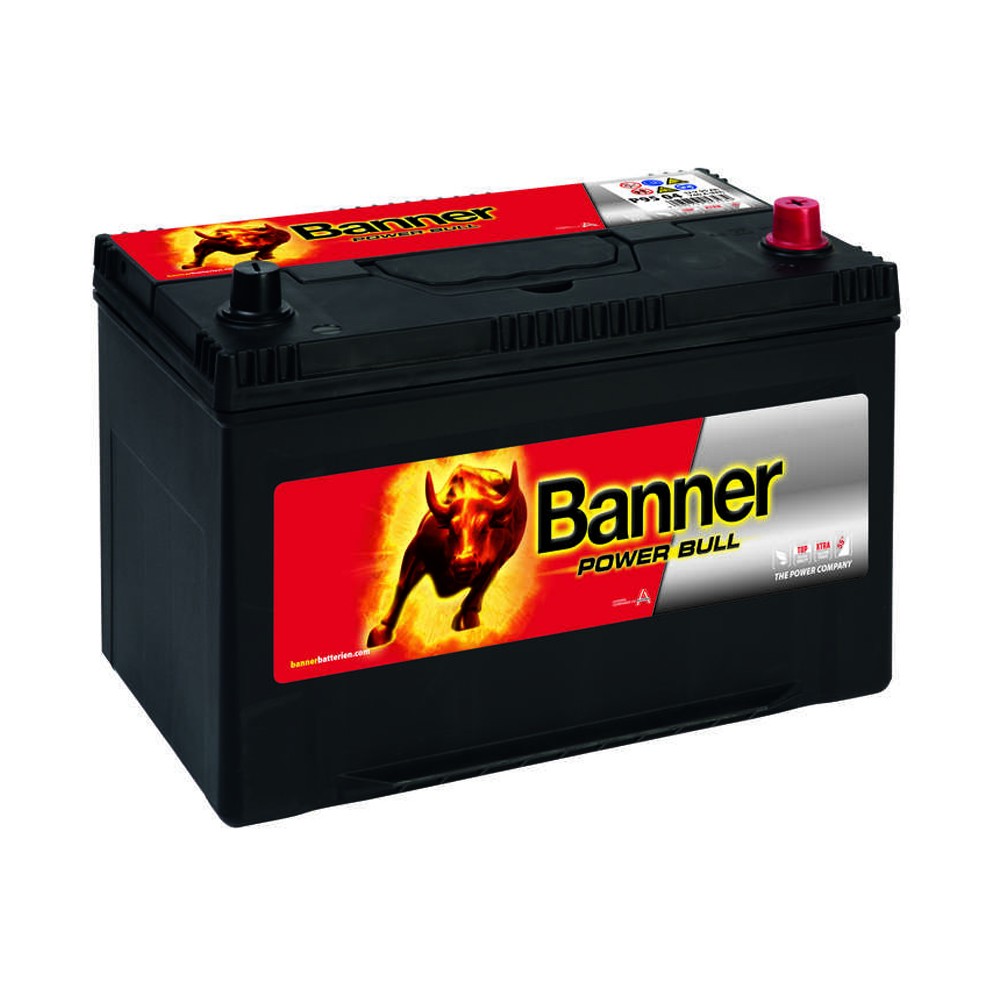 banner running bull 105ah 12v agm autobatterie start stop. Black Bedroom Furniture Sets. Home Design Ideas