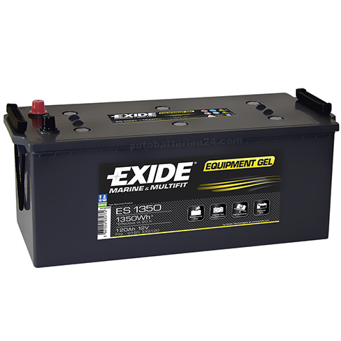 exide equipment gel es1300 12v 120ah g120s gel batterie akku solar antrieb 1300w ebay. Black Bedroom Furniture Sets. Home Design Ideas