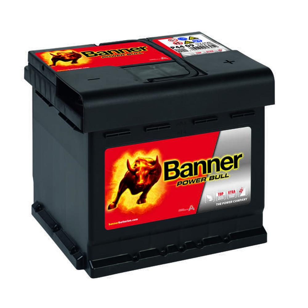 banner power bull 12v 44ah p4409 420a en autobatterie batterie 41ah 43ah 45ah ebay. Black Bedroom Furniture Sets. Home Design Ideas