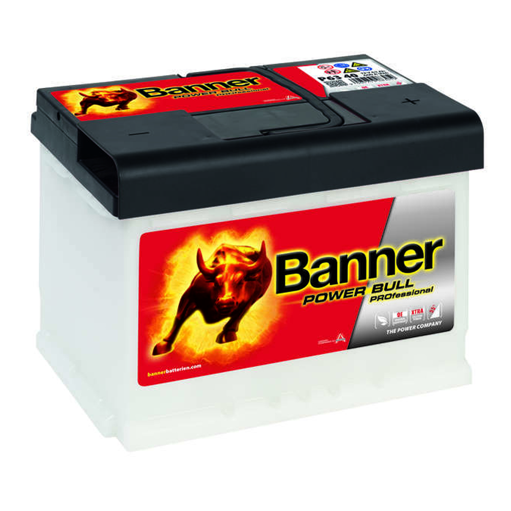 banner power bull autobatterie 63ah 12volt pro p6340. Black Bedroom Furniture Sets. Home Design Ideas