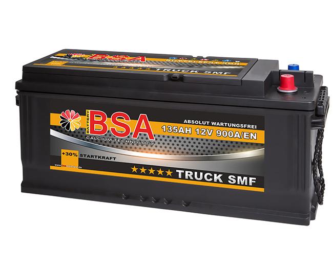 bsa lkw batterie 12v 135ah starterbatterie shd smf traktor. Black Bedroom Furniture Sets. Home Design Ideas