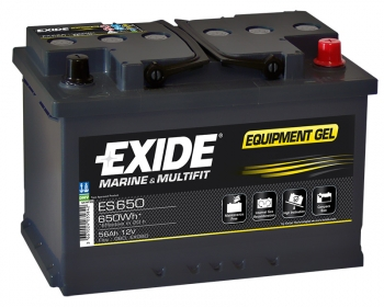 Exide Equipment ES650 56Ah Gel Batterie
