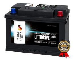 SIGA Autobatterie 80Ah / 750A